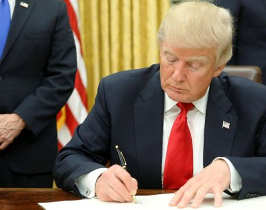Donald Trump signed an Executive Order canceling Saturday Night Live
