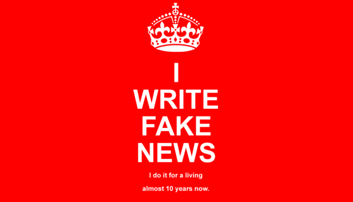 I write fake news by Paul Horner
